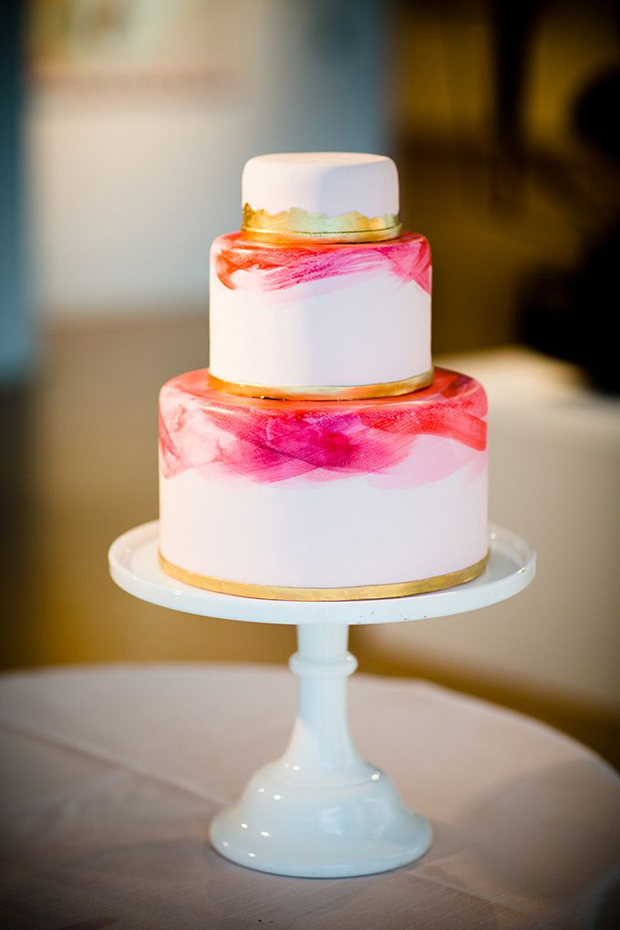 22 Hand Painted Wedding Cakes To Inspire You!
