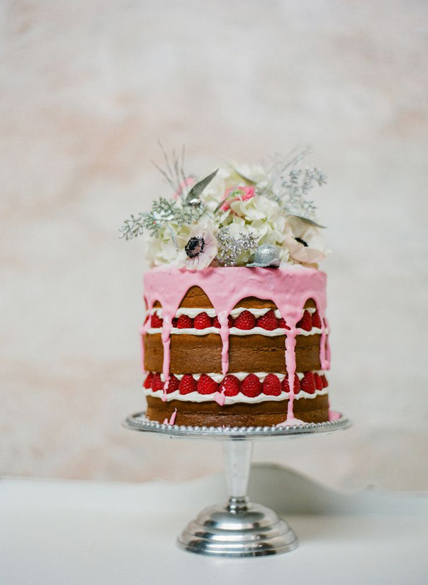 naked paint cake