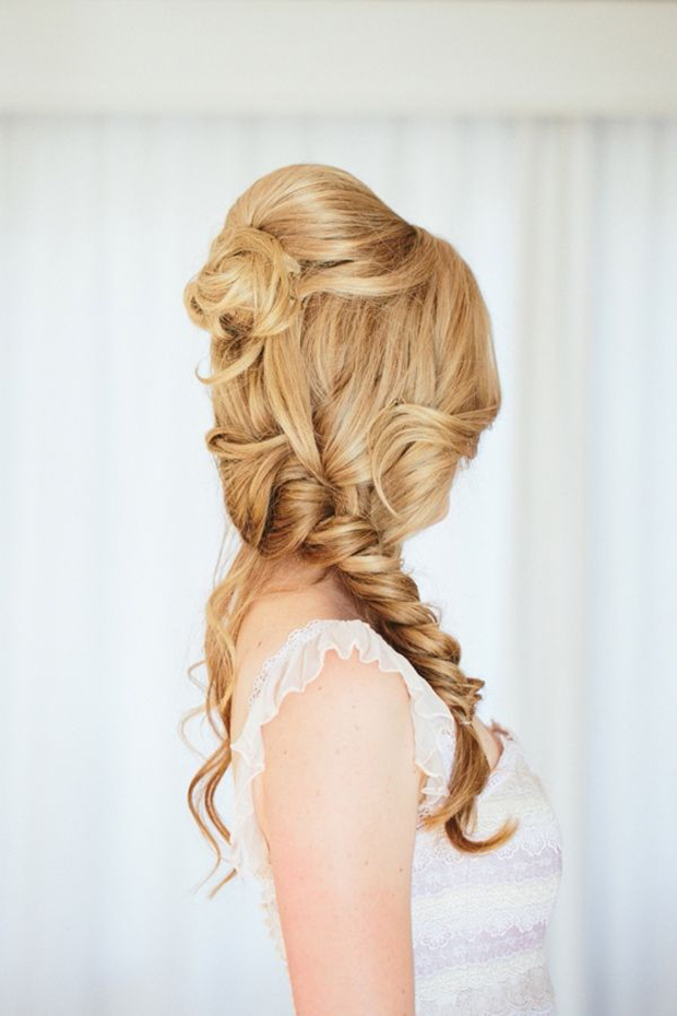 pretty mermaid plait