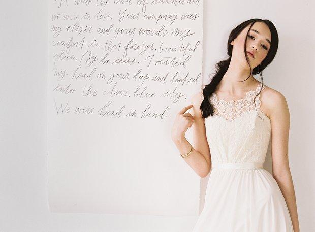 Effortlessly Modern Wedding Dresses for 2015 by Truvelle