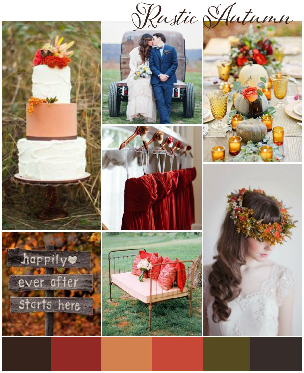 Autumn wedding ideas & inspiration