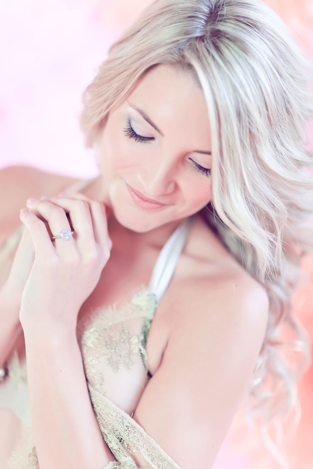 Blushing Bride and Bunnies: Pink Inspiration Shoot