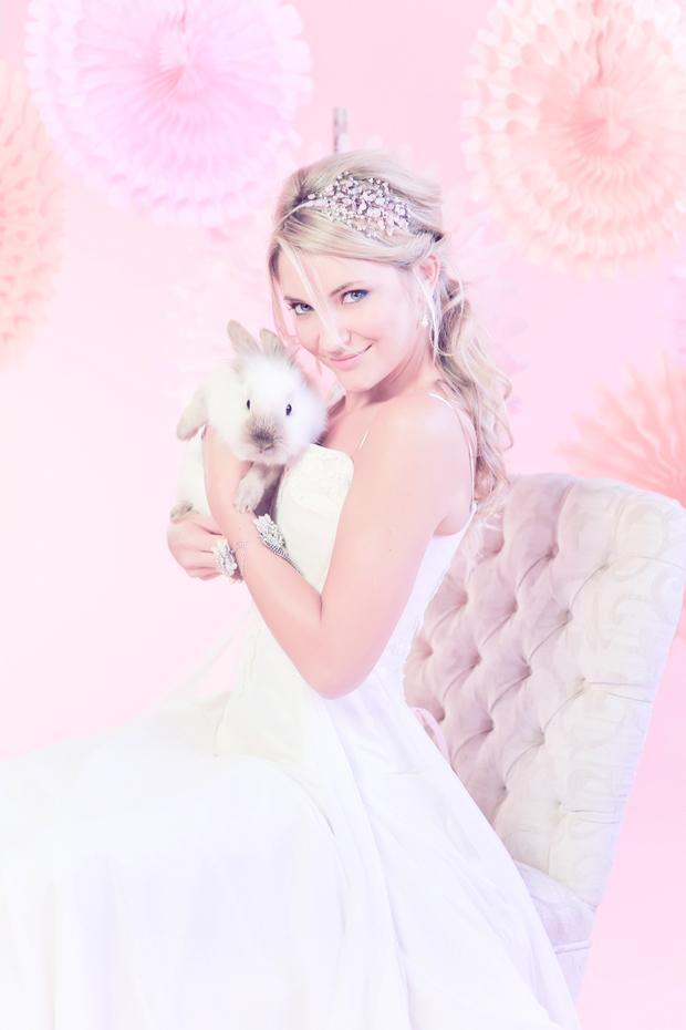 Blushing Bride and Bunnies: Pink Inspiration Shoot