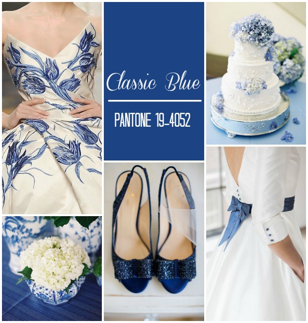 Classic Blue Pantone Wedding Ideas & Inspiration