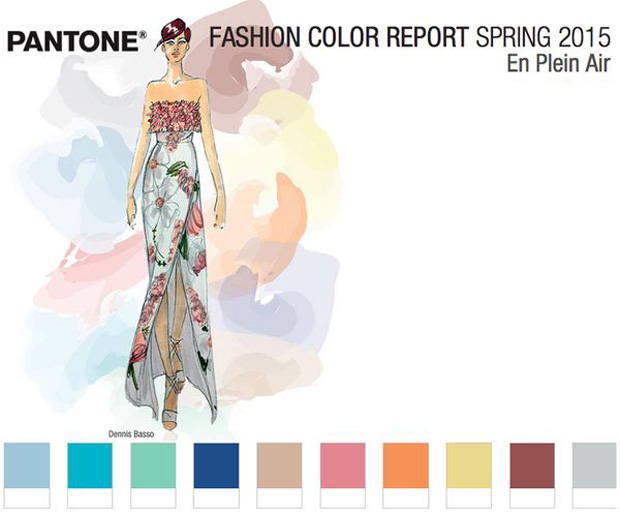 Pantone Colour Report Spring 2015