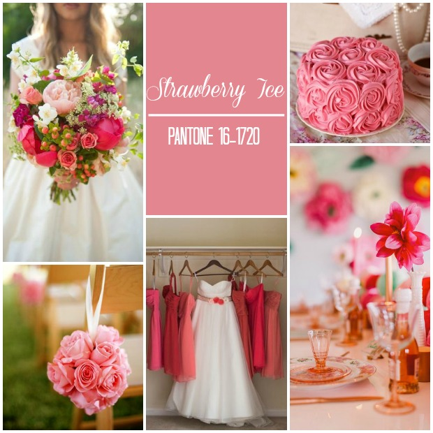 Pantone Colour Report: Spring 2015 | Weddings [Part 2]