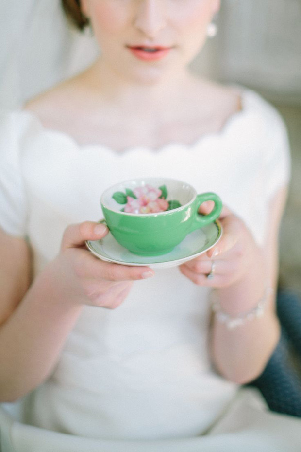 gorgeous green and blush wedding inspiration: colour ideas