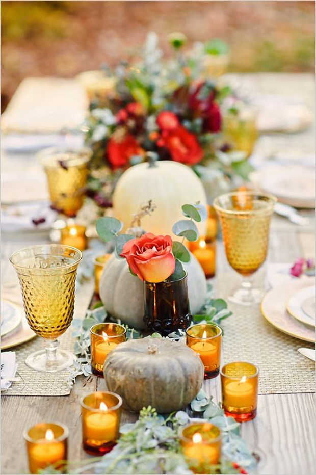 Autumn wedding ideas wedding inspiration for Autumn wedding decoration ideas
