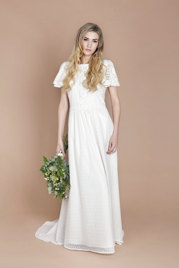 Eco luxe creations by talented finnish wedding dress designer minna