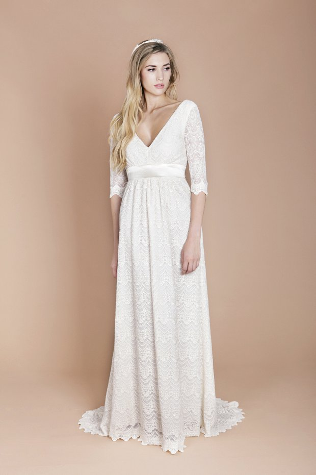 Eco Luxe Boho Wedding Dresses by Minna!_0006
