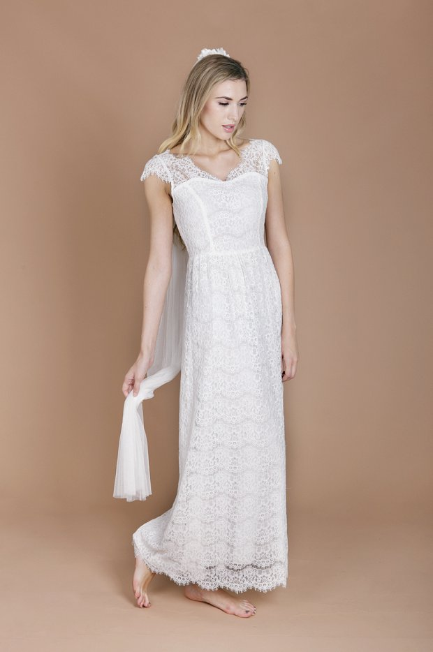 Eco Luxe Boho Wedding Dresses by Minna!_0009