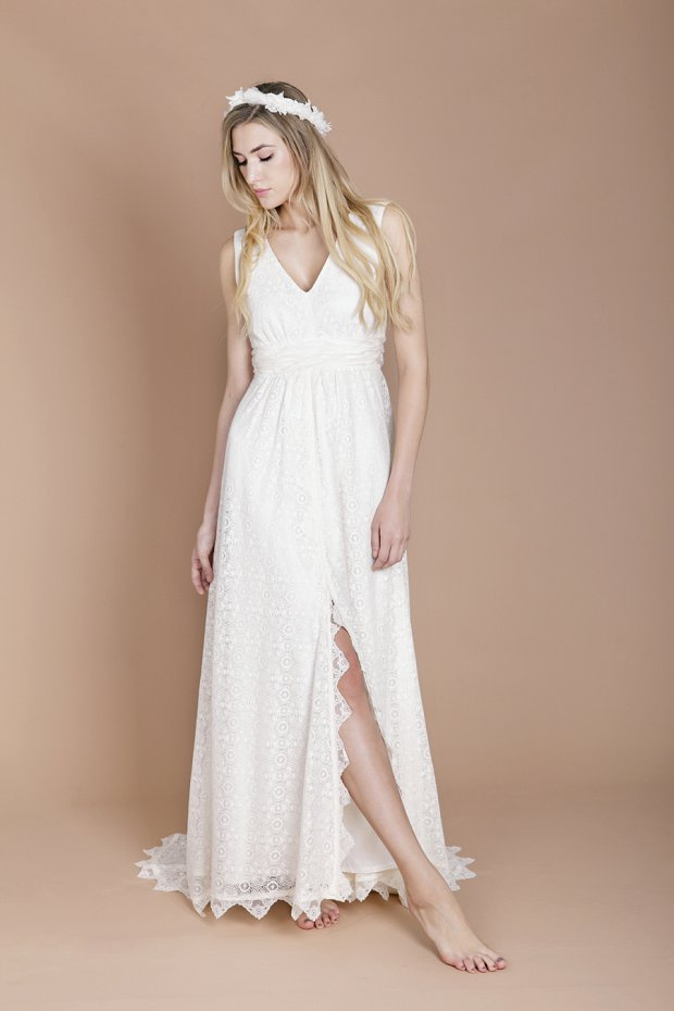 Eco Luxe Boho Wedding Dresses by Minna!_0010