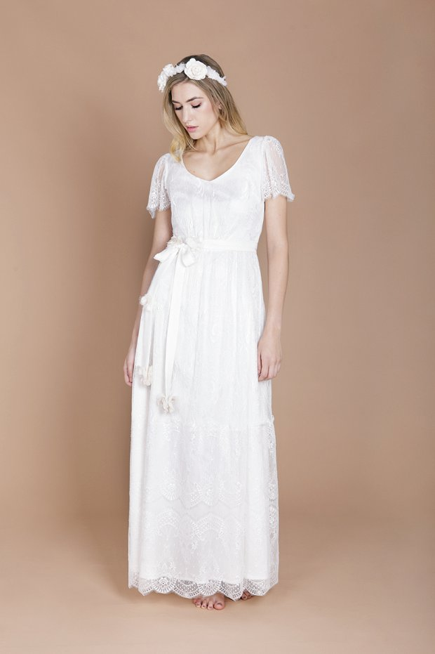 Eco Luxe Boho Wedding Dresses by Minna!_0016