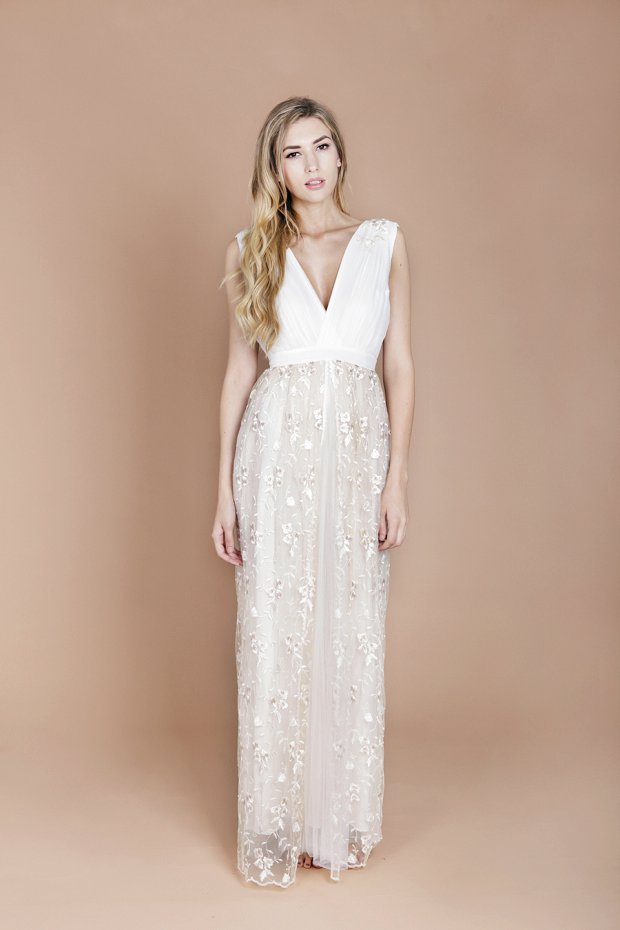 Eco Luxe Boho Wedding Dresses by Minna!_0019