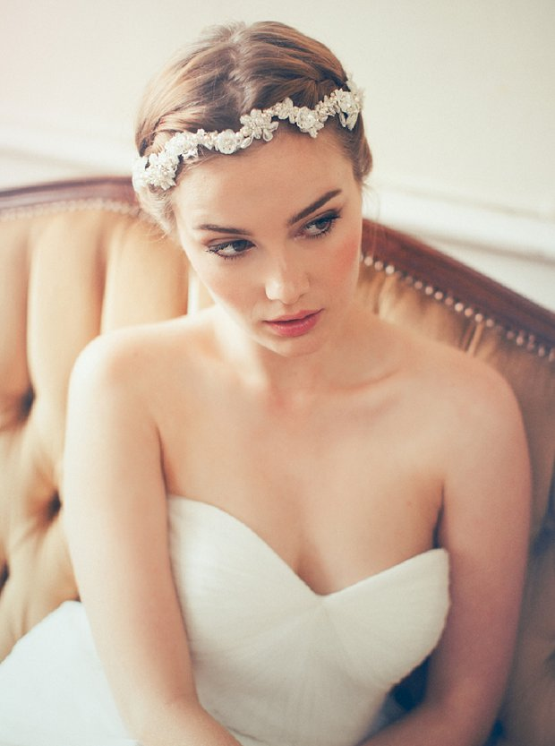 The Beautiful Jannie Baltzer Collection 2015: Headpieces, Veils & Cuffs