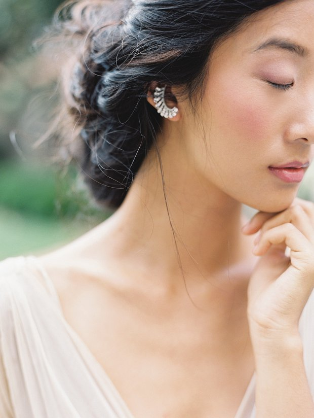 Liv Hart earrings_Headpieces, Accessories, & Veils Enchanted Atelier Fall 2015 by Liv Hart