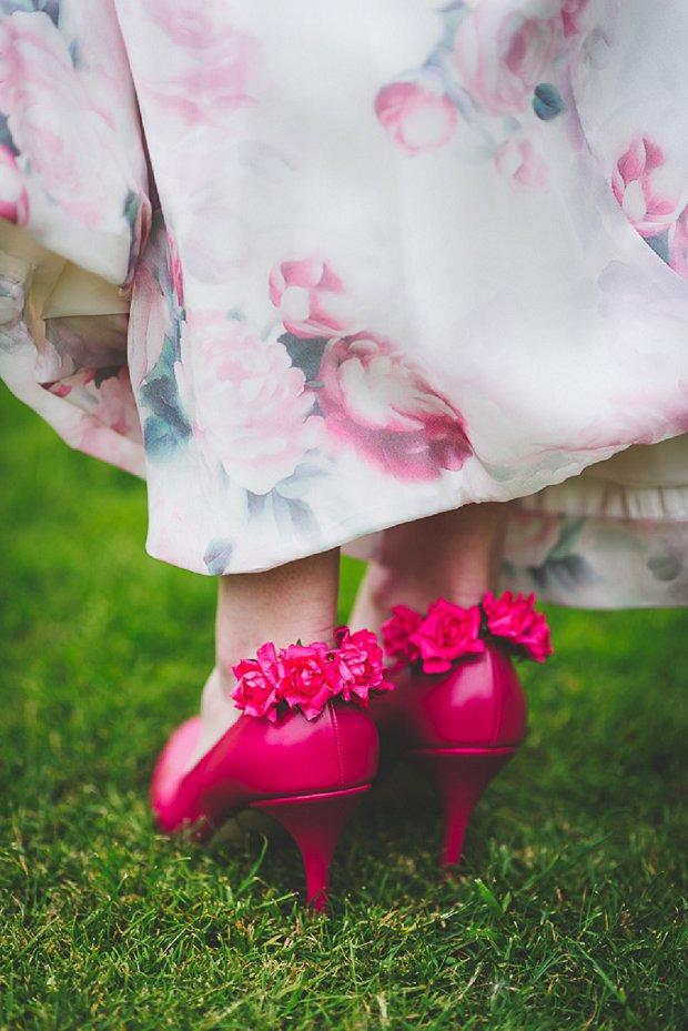 Vibrant English Walled Garden Wedding Inspiration