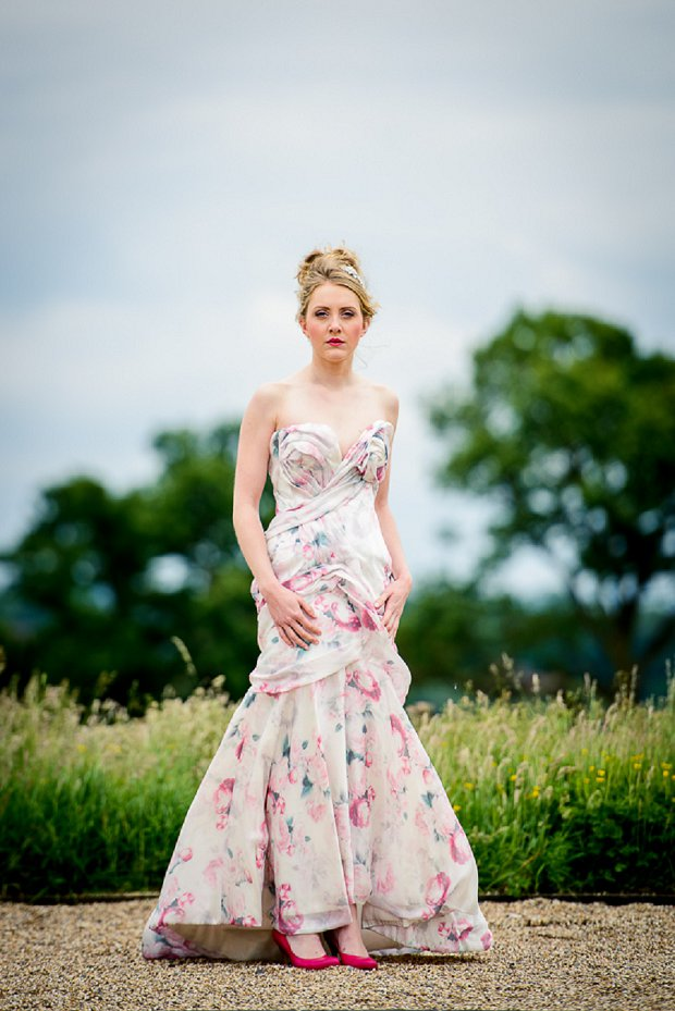 Vibrant English Walled Garden Wedding Inspiration