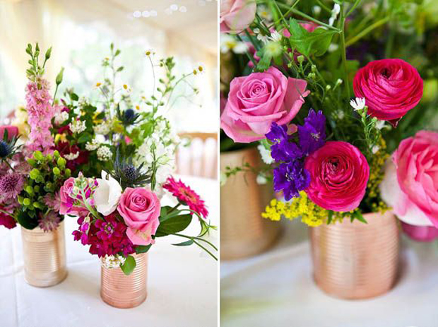 Fun & Creative DIY Tin Can Wedding Ideas