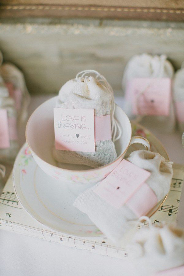 love is brewing wedding favours