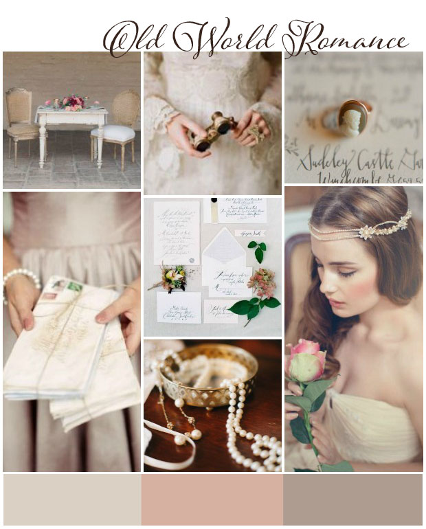 Old World Romance | Wedding Inspiration & Wedding Ideas