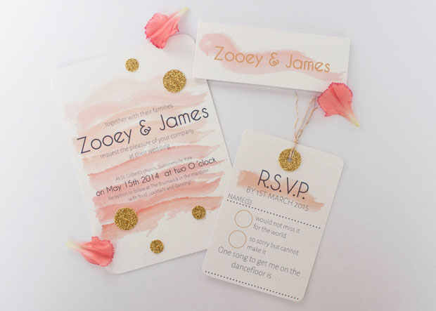 Beautiful Hand-Crafted & Rustic Wedding Stationery: Norma & Dorothy