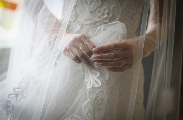 ultra sheer wedding gloves