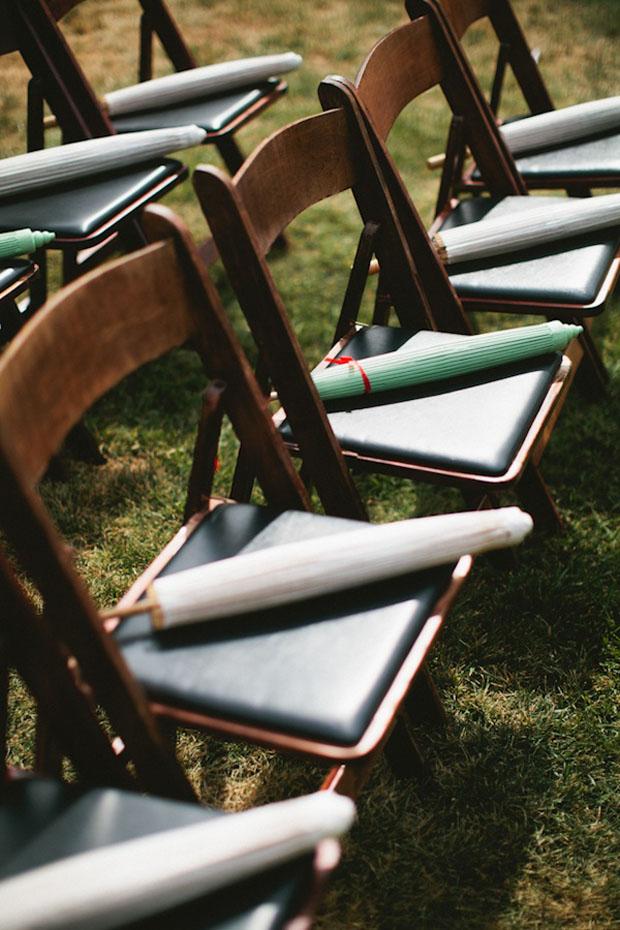 umbrella wedding favours