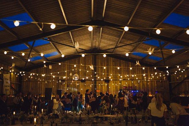 Blue & Mustard Rustic Barn Wedding With 50s Wedding Dress_0001