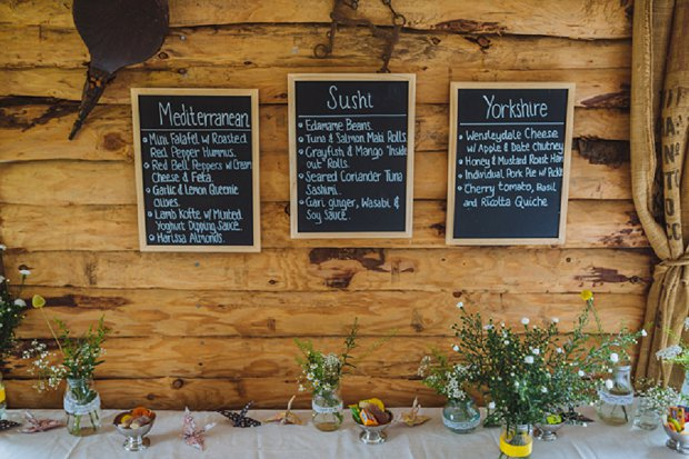 Blue & Mustard Rustic Barn Wedding With 50s Wedding Dress_0040