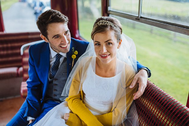 Blue & Mustard Rustic Barn Wedding With 50s Wedding Dress_0057
