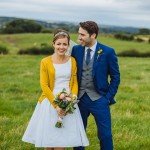 Blue & Mustard Rustic Barn Wedding With 50s Wedding Dress_0058