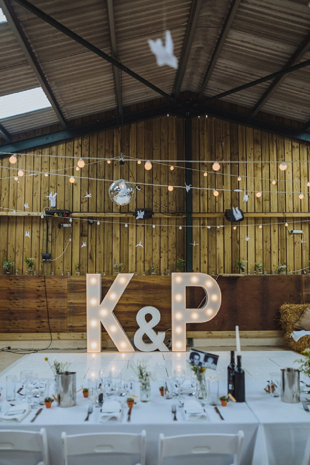 Blue & Mustard Rustic Barn Wedding With 50s Wedding Dress_0080