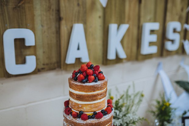 Blue & Mustard Rustic Barn Wedding With 50s Wedding Dress_0087