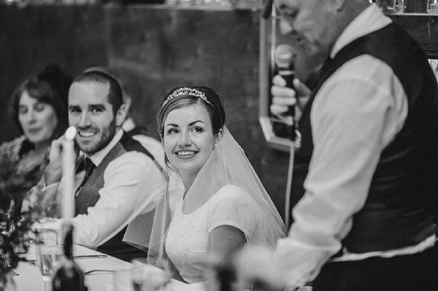 Blue & Mustard Rustic Barn Wedding With 50s Wedding Dress_0106