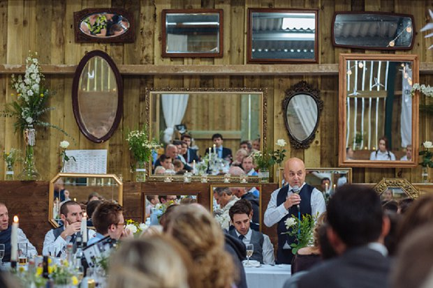 Blue & Mustard Rustic Barn Wedding With 50s Wedding Dress_0107