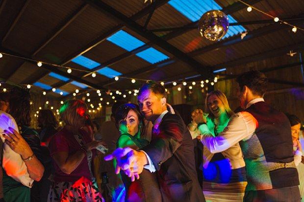 Blue & Mustard Rustic Barn Wedding With 50s Wedding Dress_0124