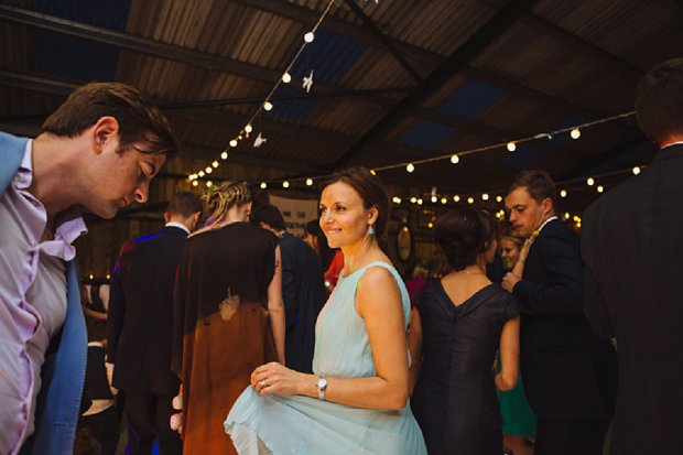 Blue & Mustard Rustic Barn Wedding With 50s Wedding Dress_0128