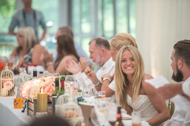 Blush Pink & pale Grey Shabby Chic Real Wedding (10)