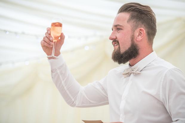 Blush Pink & pale Grey Shabby Chic Real Wedding (11)