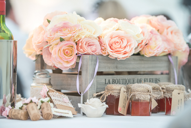 Blush Pink & pale Grey Shabby Chic Real Wedding (16)