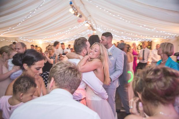 Blush Pink & pale Grey Shabby Chic Real Wedding (22)
