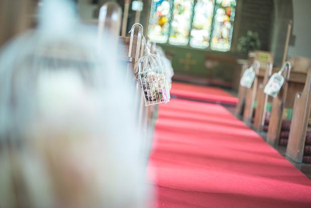 Blush Pink & pale Grey Shabby Chic Real Wedding (28)