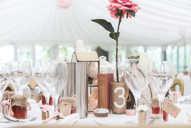 Blush Pink & pale Grey Shabby Chic Real Wedding (38)