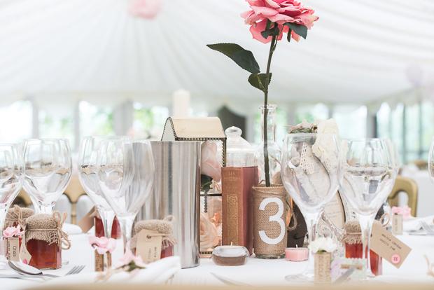 Blush Pink & pale Grey Shabby Chic Real Wedding (38)