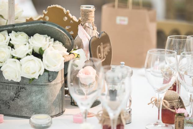 Blush Pink & pale Grey Shabby Chic Real Wedding (39)