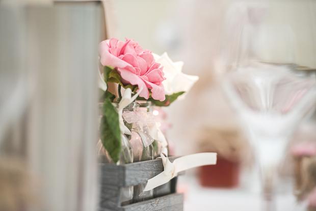 Blush Pink & pale Grey Shabby Chic Real Wedding (40)