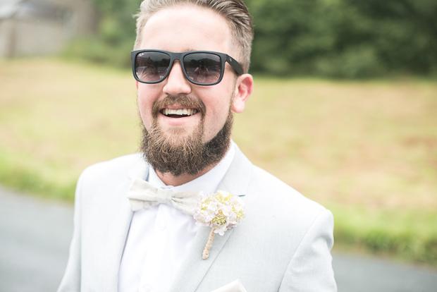 Blush Pink & pale Grey Shabby Chic Real Wedding (41)
