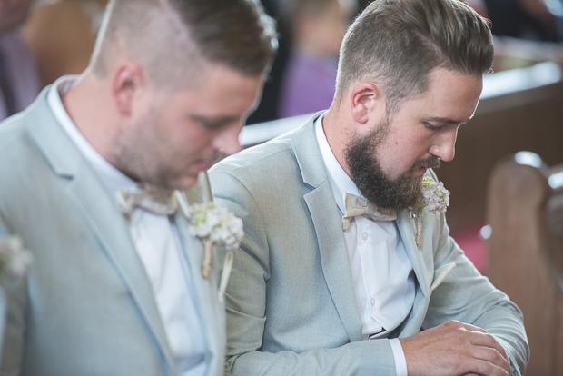 Blush Pink & pale Grey Shabby Chic Real Wedding (52)