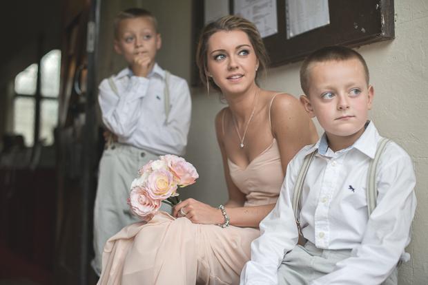 Blush Pink & pale Grey Shabby Chic Real Wedding (54)